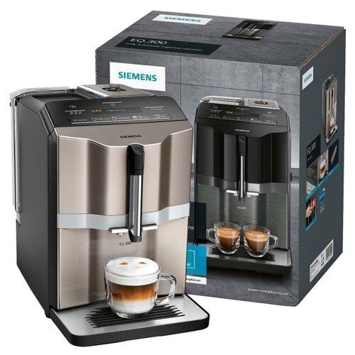 Кофемашина Siemens TI353204RW, черный/бежевый