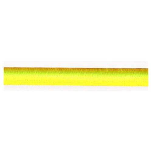 Резинка шляпная PEGA неоновая, цвет желтый, 2,8 мм 33 % полиэстр, 67 % латекс
