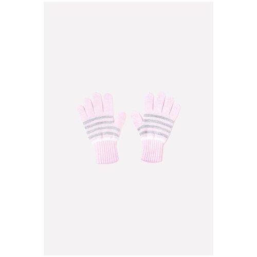 Перчатки crockid К 148/ш размер 12, светлая астра/светло-серый меланж