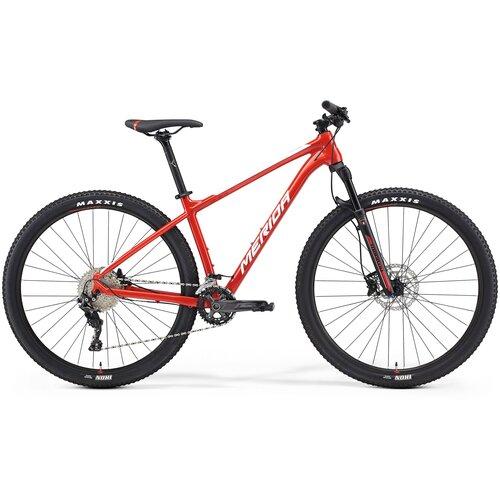 Фото - Горный (MTB) велосипед Merida Big.Nine 500 (2021) red/white XL (требует финальной сборки) велосипед merida ride cf team 2014