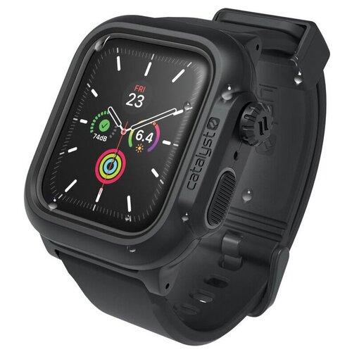 Водонепроницаемый чехол Catalyst Waterproof для Apple Watch 4/5/6/SE 44 мм цвет Черный