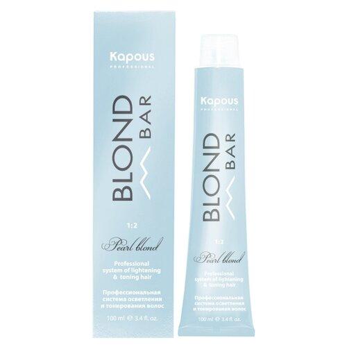 Купить Kapous Professional Blond Bar крем-краска для волос с экстрактом жемчуга, BB 1036 Золотистый розовый, 100 мл