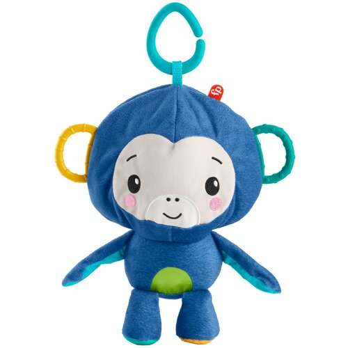 Фото - Подвесная игрушка Fisher-Price Обезьянка и мячик (GRR32) синий fisher price посмотри и найди
