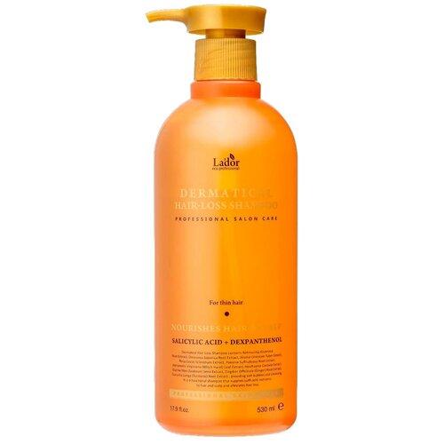 La'dor шампунь Dermatical Hair-Loss для тонких волос, 530 мл