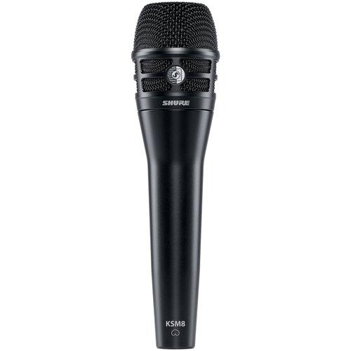 KSM8/B Dualdyne Cardioid Dynamic Handheld Vocal Microphone, Black Кардиоидный динамический вокальный микрофон, цвет черный