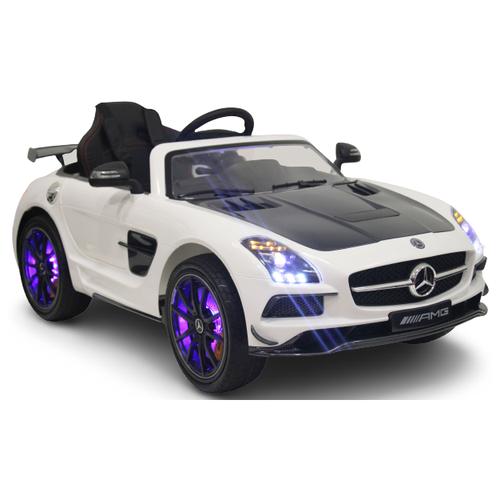 Купить RiverToys Автомобиль Mercedes-Benz SLS A333AA VIP, белый, Электромобили