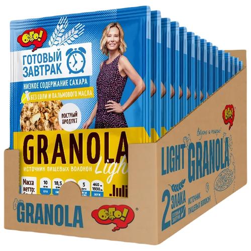 Гранола ОГО! Light, пакет, 15 уп. по 60 г