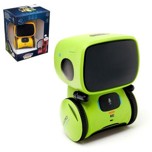 Купить ZHORYA Робот интерактивный «Милый робот», световые и звуковые эффекты, цвет микс, Роботы и трансформеры