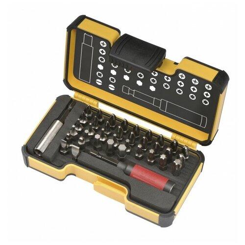 Фото - Felo Набор бит SL/PZ/PH/HEX/Tx/SQ с рукояткой ERGONIC и биторжателем STAR в кейсе, 38 шт 02073806 felo набор бит sl hex ph pz tx sq spanner bh ms с трещоткой и отвертка с держателем бит ergonic в кейсе 36 шт 05783606