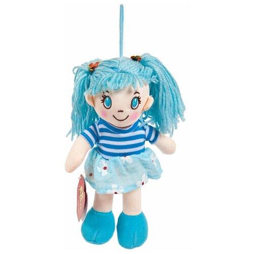 Фото - Кукла ABtoys Мягкое сердце, мягконабивная в голубом платье, 20 см мягкая игрушка abtoys кукла рыжая в голубом платье 20 см