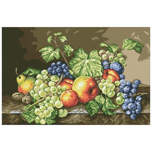 Купить Алмазная мозаика Натюрморт, картина стразами Паутинка 56x37 см., Алмазная вышивка