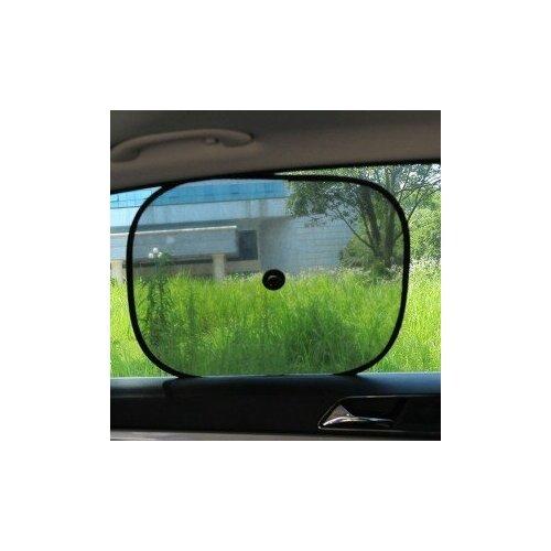 Автомобильные шторки солнцезащитные на присосках, 2 шт, 44 х 37 x 0,2 см