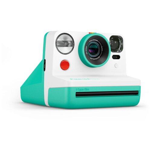 Фото - Фотоаппарат моментальной печати Polaroid Now, мятный фотоаппарат моментальной печати canon zoemini s розовое золото