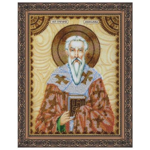 Купить Набор для вышивания бисером АБРИС АРТ AА-081 Св.Григорий 23х30 см, ABRIS ART, Наборы для вышивания