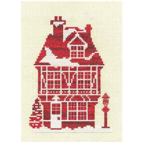 Купить PANNA Набор для вышивания Имбирный дом 11.5 х 17 см ( Д-0850 ), Наборы для вышивания