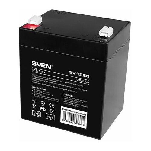 Аккумуляторная батарея для ИБП любых торговых марок 12 В 5 Ач 90х70х105 мм SVEN SV-0222005 1 шт.