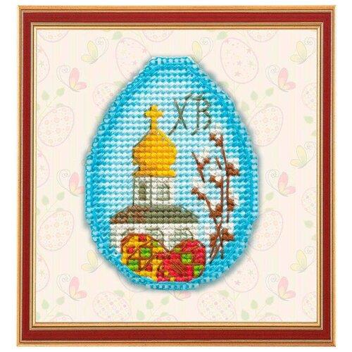Купить 1180 Набор для вышивания на пластиковой канве ОВЕН ' Пасхальный сувенир' 7, 2*5, 3см, Овен, Наборы для вышивания