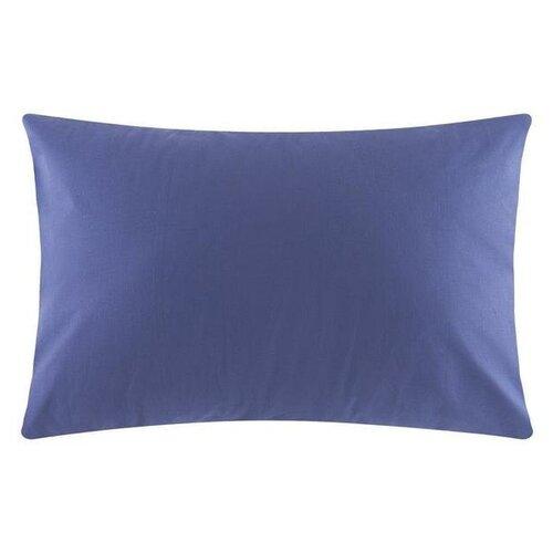 Наволочка Этель цв. синий 50*70 см, поплин, 100 % хлопок 4532777