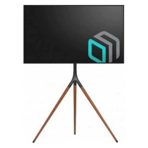 Фото - Стойка Onkron для телевизора TS1220 , 32-65, мобильная, черная мобильная стойка под телевизор onkron ts1551 красная