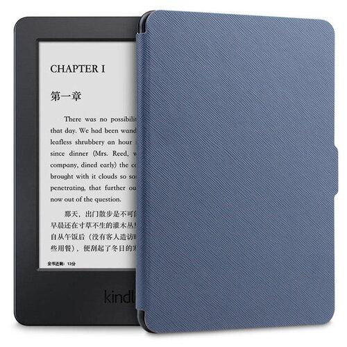 Чехол-обложка MyPads для электронной книги Amazon Kindle Paperwhite 1/ 2/ 3 (2012/ 2013/ 2015) пластиковый основе синий