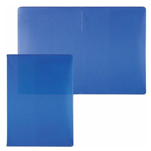 Обложка для паспорта полупрозрачная, ПВХ, цвет ассорти, ОД3-19, 12 шт.