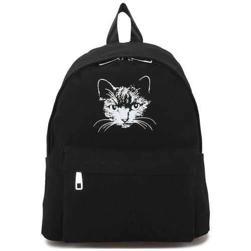 Текстильный рюкзак «Мяусон» 472 Black