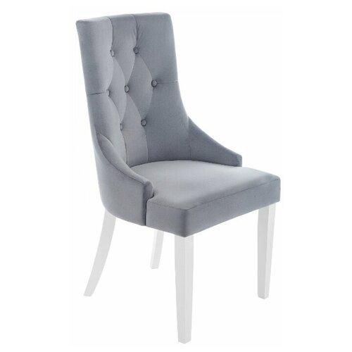 Стул Woodville Elegance, дерево/текстиль, цвет: white/fabric grey стул woodville elegance white terracotta