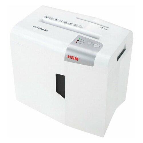 Уничтожитель (шредер) HSM SHREDSTAR X5-4.5x30 4 уровень секретности 45x30 мм 5 листов 18 литров 1043121 1 шт.
