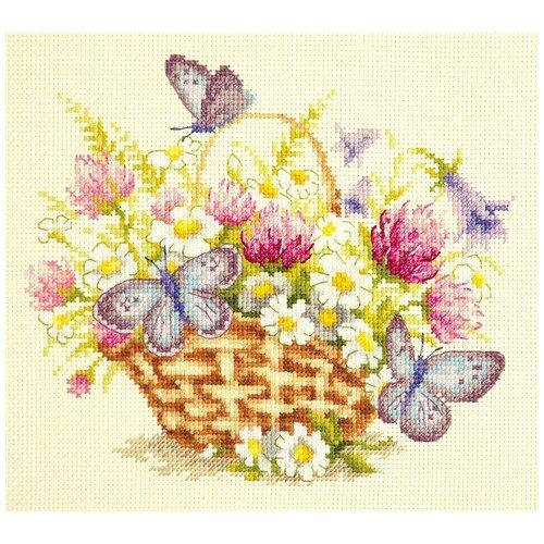 Купить Чудесная Игла Набор для вышивания Летнее настроение 20 х 17 см, (40-80), Наборы для вышивания