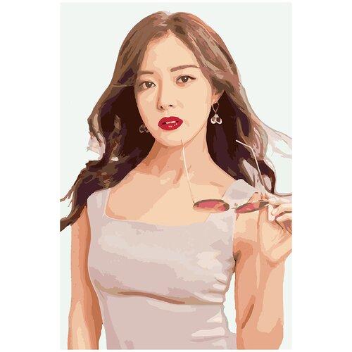 Картина по номерам Ли Се Ен 2, 40 х 60 см