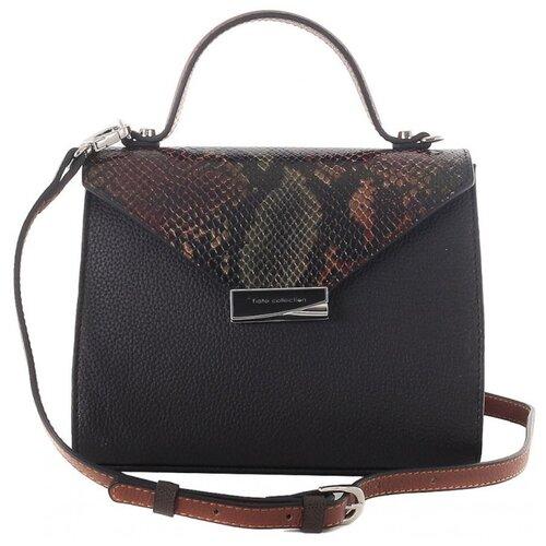 Сумка женская Fiato collection, 2600 серпенти /кожа /черный сумка fiato сумка