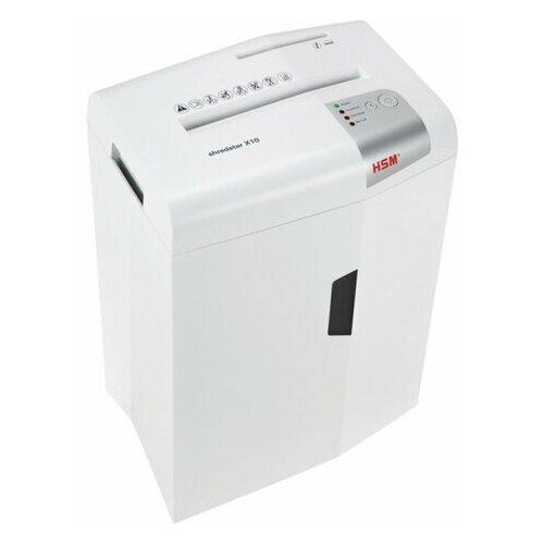 Уничтожитель (шредер) HSM SHREDSTAR X10-4.0x30 4 уровень секретности 4x30 мм 10 листов 20 литров 1045111 1 шт.