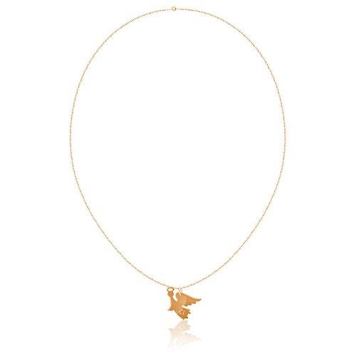 Бронницкий Ювелир Колье из красного золота Д0268-070267, 45 см, 1.94 г