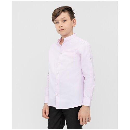 Рубашка Button Blue размер 134, розовый