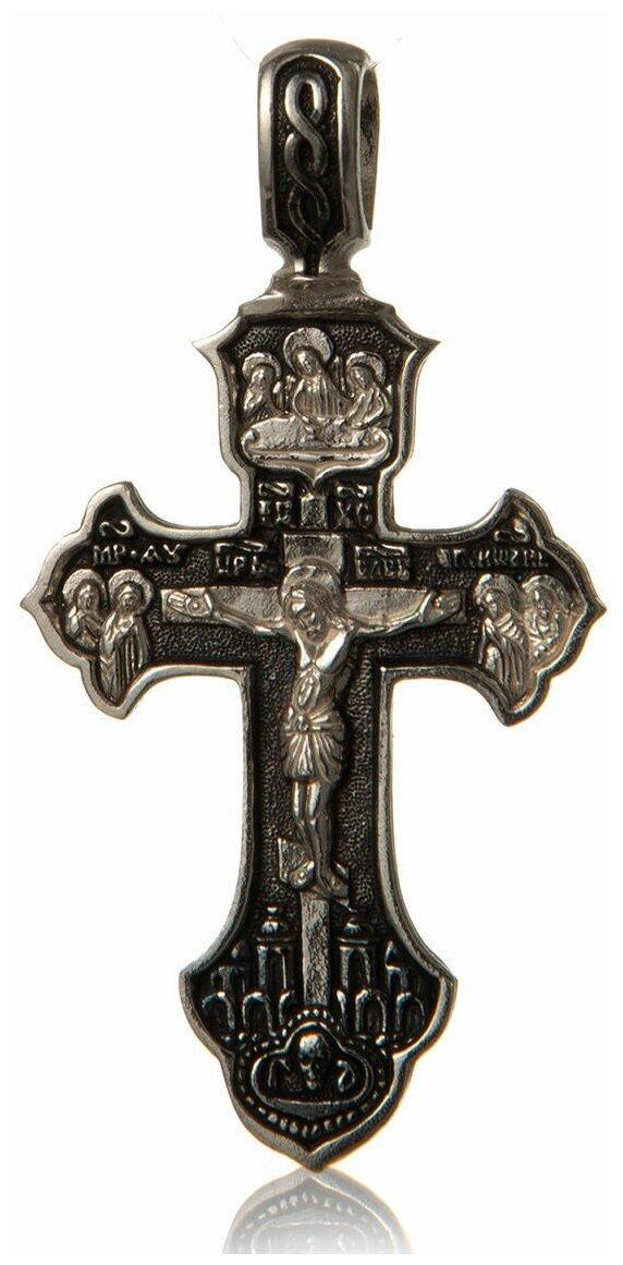 TOP CRYSTAL Крест с Распятием и Молитвой Честному Кресту Господню 11012342 — купить по выгодной цене на Яндекс.Маркете