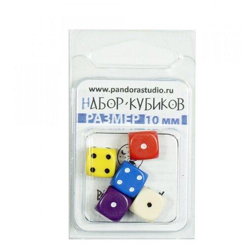 Купить Набор кубиков Для игр (5 шт.), Pandora's Box Studio, Настольные игры