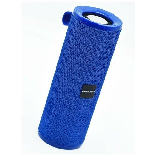 Колонка Bluetooth 5.0, FM радио, USB плеер, защита от воды, ткань