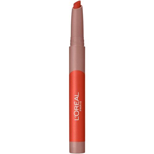 L'Oreal Paris Помада для губ Infaillible Matte Lip Crayon, оттенок 110 недорого