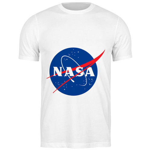 Футболка классическая Nasa space #2193008 (цвет: БЕЛЫЙ, пол: МУЖ, качество: ЭКОНОМ, размер: 3XL)