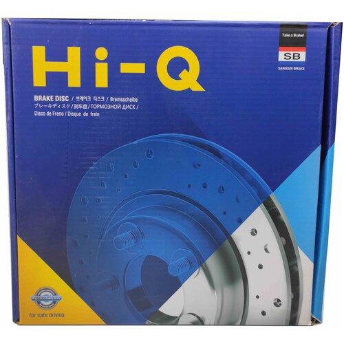 Диск тормозной передний Sangsin Brake SD2026 для Kia: Sorento (Jc) 2.4-3.5 02-.