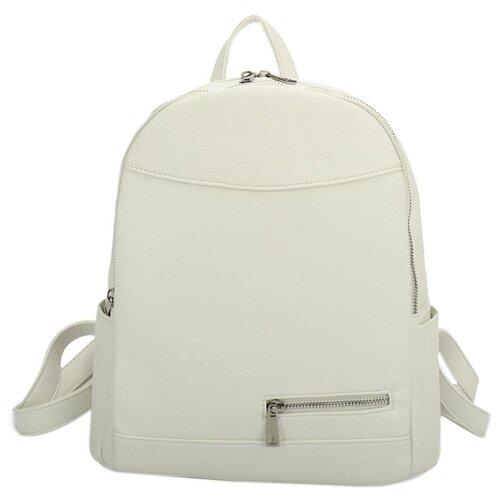 Сумка-рюкзак OrsOro, искусственная кожа, белый