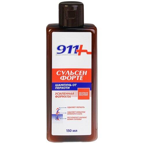 Купить 911+ шампунь Сульсен Форте против перхоти, 150 мл