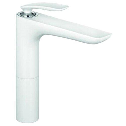 Смеситель для раковины (умывальника) KLUDI Balance 52296 9175 белый/хром смеситель для раковины kludi balance 522450575
