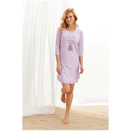 Фото - Сорочка Taro, размер L, сиреневый сорочка taro размер l серый