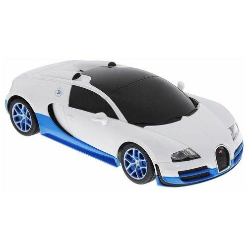 Купить Гоночная машина Rastar Bugatti Veyron Grand Sport Vitesse (53900) 1:18 белый, Радиоуправляемые игрушки