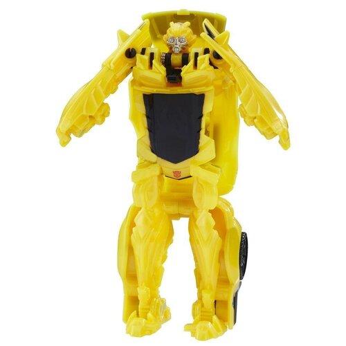 роботы transformers hasbro трансформеры 5 movie уан степ Трансформер Transformers Transformers Бамблби. Уан-Степ (Трансформеры 5) C1311, желтый/черный