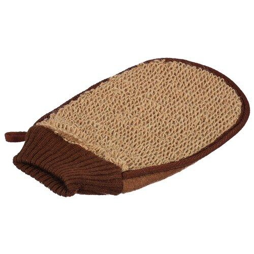 Купить Мочалка-варежка из рами Банные штучки, 15 x 24 см