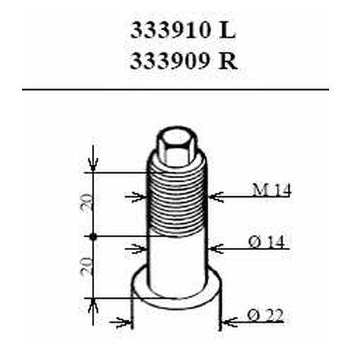 Амортизатор подвески Kayaba 333909 для BMW 3 серия E36