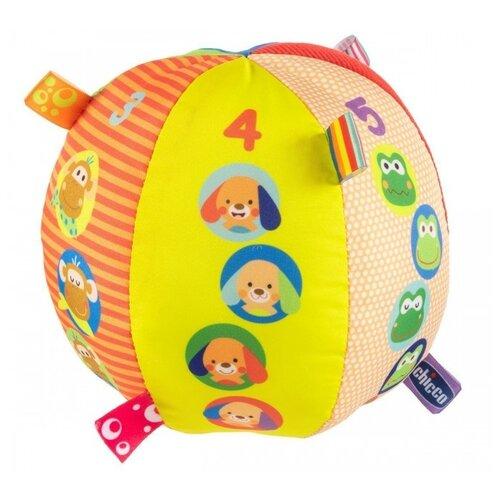 Купить Развивающая игрушка Chicco Музыкальный мячик, разноцветный, Развивающие игрушки