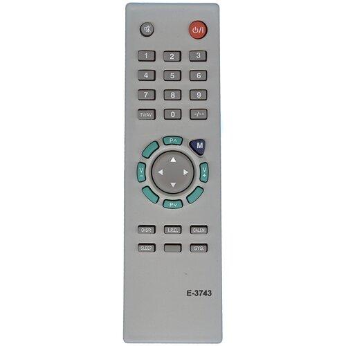 Фото - Пульт Huayu E3743 для телевизора Erisson пульт huayu kzg 103 ic для телевизора erisson